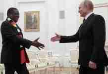 Zimbabwe Russia platinum