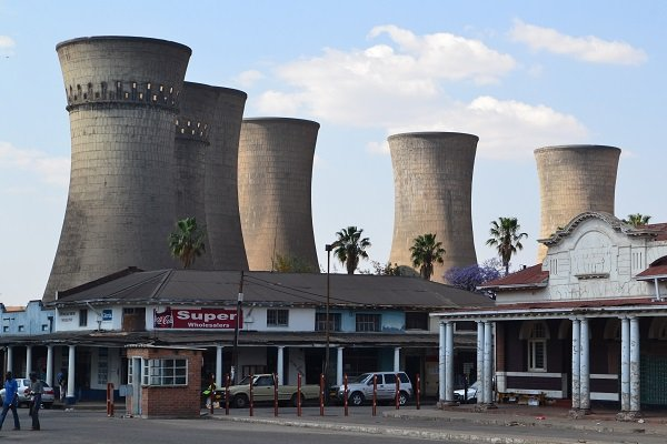 Bulawayo power station Zimbabwe