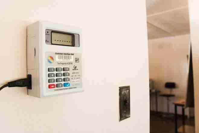 Zimbabwe power meter ZESA