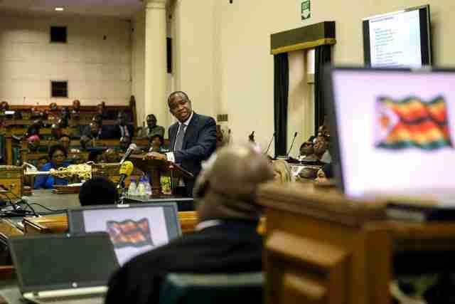 Zimbabwe budget Mthuli Ncube