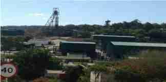 Zimbabwe Caledonia Blanket Mine